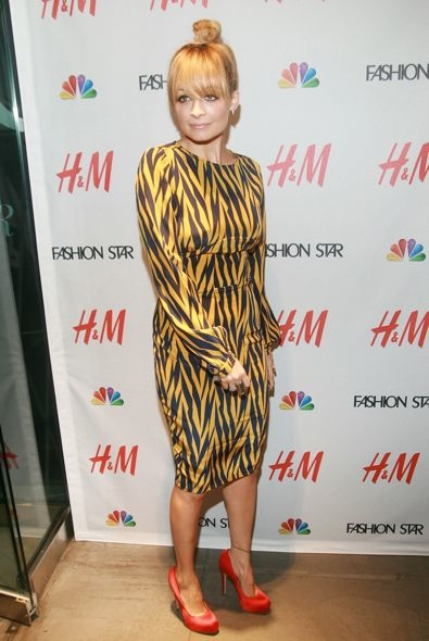 Nicole Richie at H&M Celebrates NBC