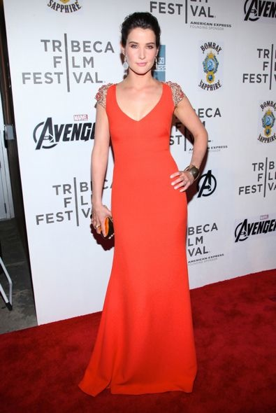 Cobie Smulders at the 2012 Tribeca Film Festival Premiere of The Avengers