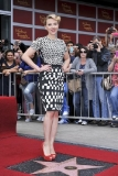 Scarlett Johansson Receiving a Star on the Hollywood Walk of Fame