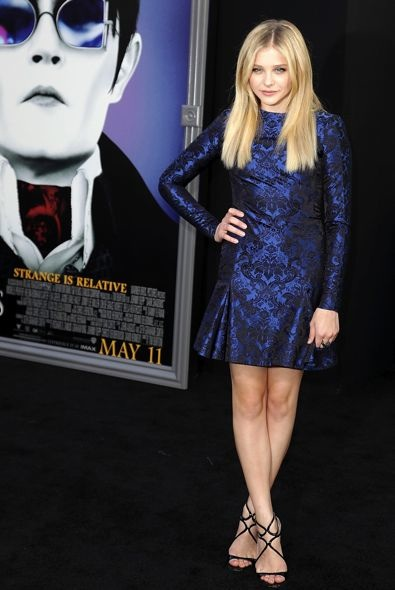 Chloe Moretz at the Los Angeles Premiere of Dark Shadows
