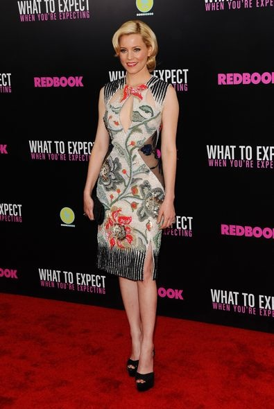 Elizabeth Banks at the New York Screening of What to Expect When You