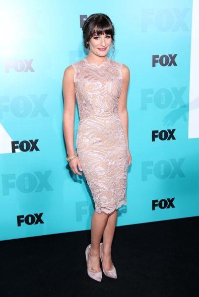 Lea Michele at the 2012 Fox Upfront Presentation