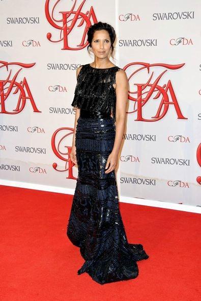 Padma Lakshmi at the 2012 CFDA Fashion Awards