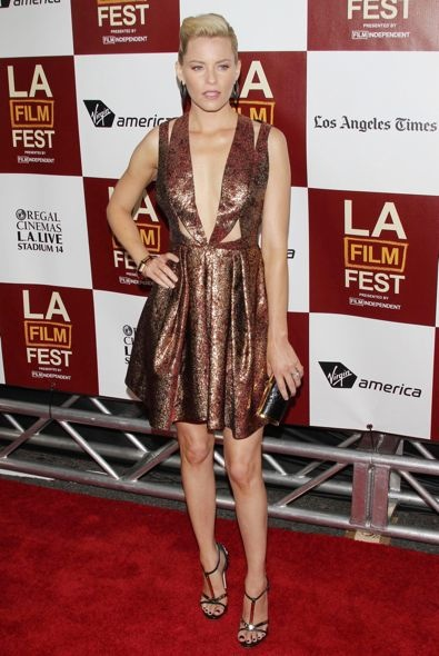 Elizabeth Banks at the 2012 Los Angeles Film Festival Premiere of People Like Us