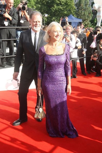 Helen Mirren at the 2012 Karlovy Vary International Film Festival