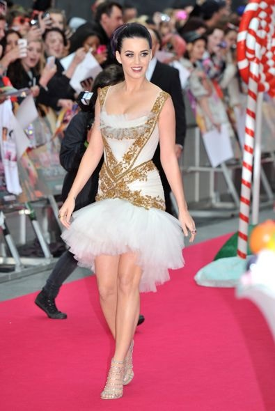 Katy Perry at the UK Premiere of Katy Perry: Part of Me 3D