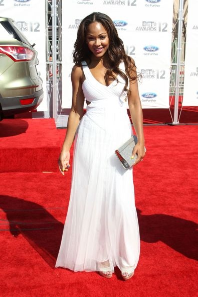 Meagan Good at the 2012 BET Awards