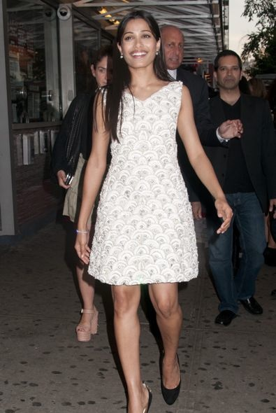 Freida Pinto at the New York Screening of Trishna