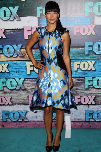 Hannah Simone at the Fox All-Star Party