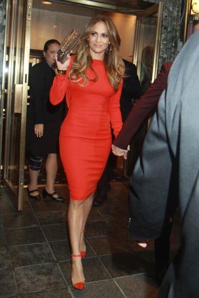 Jennifer Lopez Leaving for Her Birthday Celebration