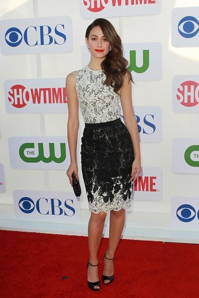 Emmy Rossum at the CBS, The CW, and Showtime 2012 Summer TCA Party