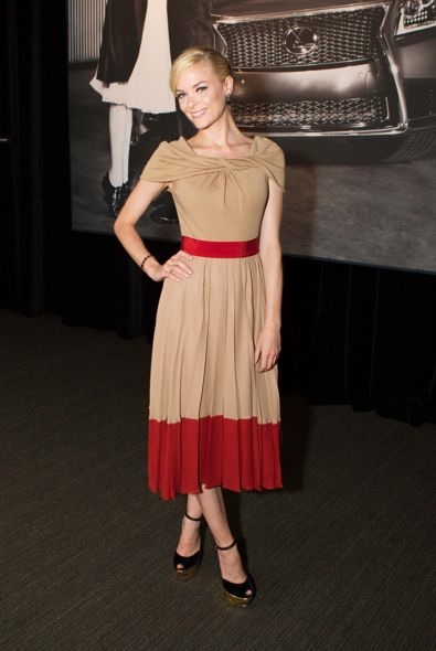 Jaime King at the Lexus Laws of Attraction Event