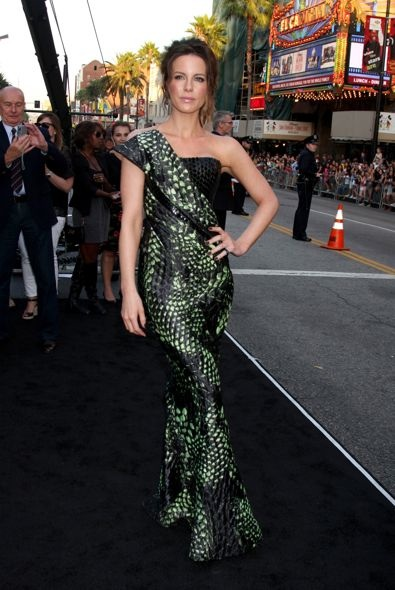 Kate Beckinsale at the Los Angeles Premiere of Total Recall