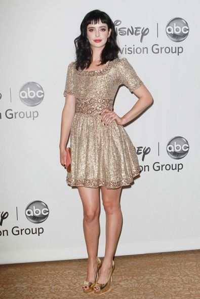 Krysten Ritter at the Disney ABC Television Group's 2012 TCA Summer Press Tour