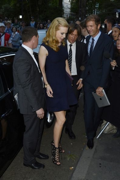 Nicole Kidman at the Private Opening of OMEGA House