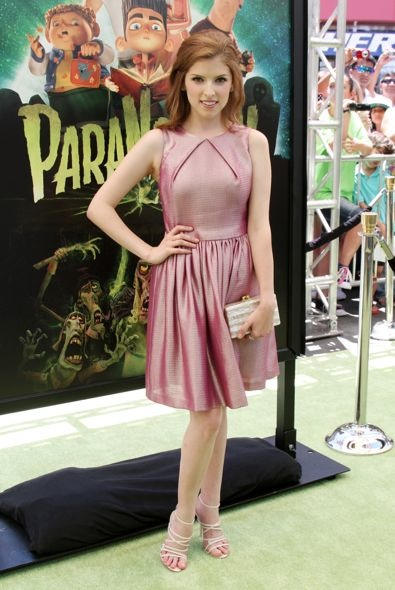 Anna Kendrick at the Los Angeles Premiere of ParaNorman