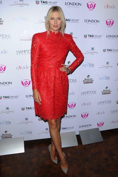 Maria Sharapova at the Hamptons Magazine Cover Party