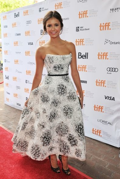 Nina Dobrev at the 2012 Toronto International Film Festival Premiere of The Perks of Being a Wallflower