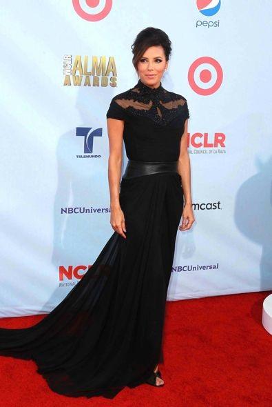 Eva Longoria at the 2012 ALMA Awards