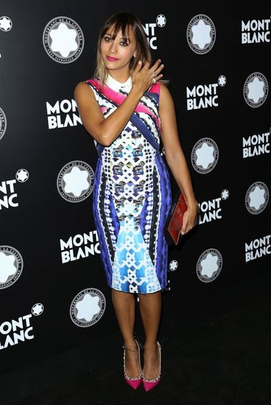 Rashida Jones at the 2012 Montblanc de la Culture Arts Patronage Award Ceremony