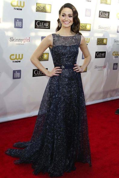 Emmy Rossum at the 2013 Critics