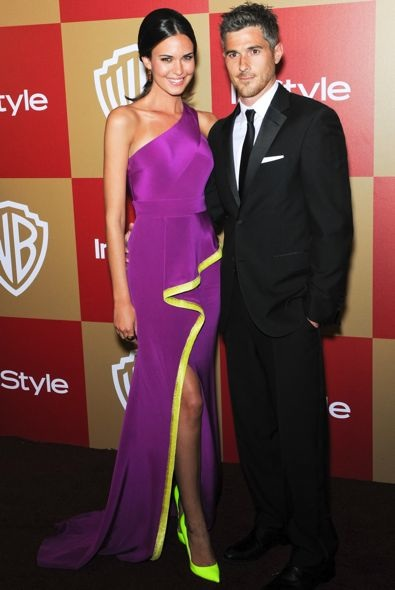 Odette Annable at the InStyle and Warner Bros. Golden Globe After Party