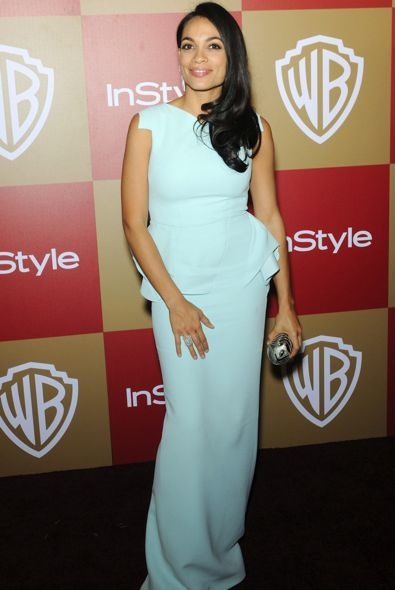 Rosario Dawson at the InStyle and Warner Bros. Golden Globe After Party