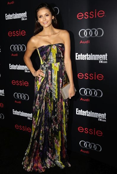 Nina Dobrev at the Entertainment Weekly Pre-SAG Awards Party