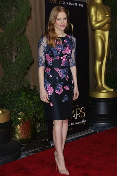 Jessica Chastain at the 85th Academy Awards Nominees Luncheon