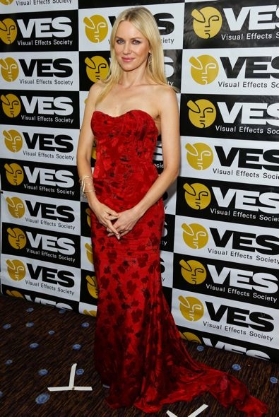 Naomi Watts at the 11th Annual Visual Effects Society Awards