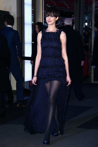 Anne Hathaway at the 63rd Berlin International Film Festival Premiere of Les Mis