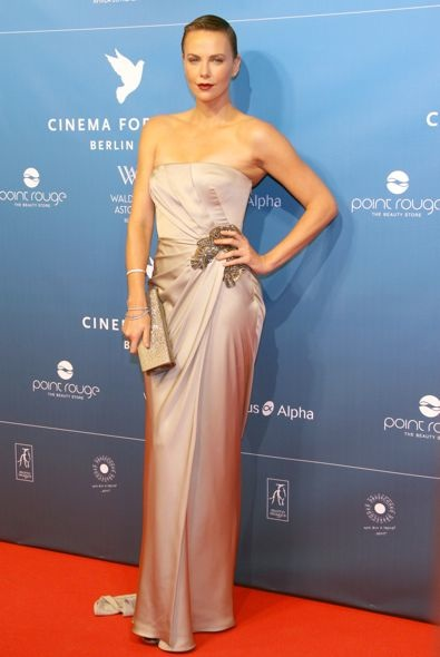 Charlize Theron at the 2013 Cinema for Peace Gala