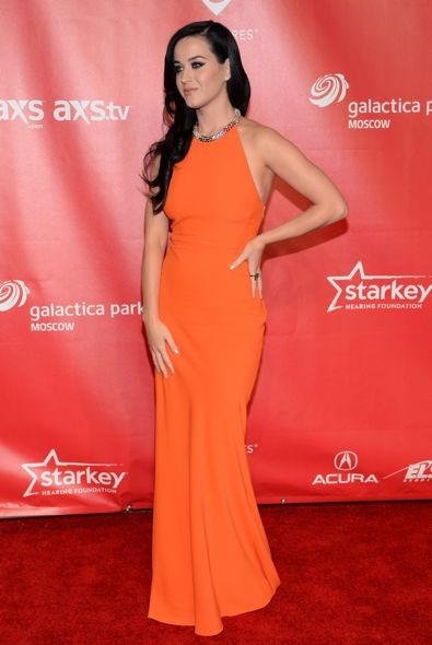 Katy Perry at the 2013 MusiCares Person of the Year Gala