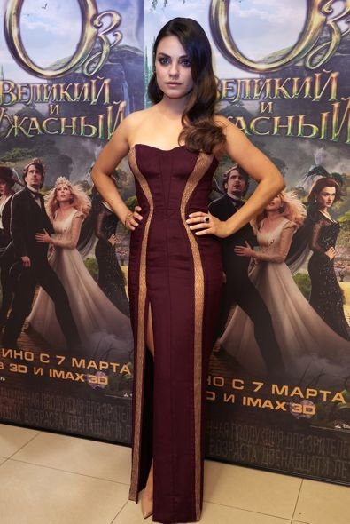 Mila Kunis at the Moscow Premiere of Oz The Great and Powerful