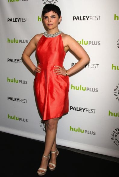 Ginnifer Goodwin at the 2013 PaleyFest Panel for Once Upon a Time