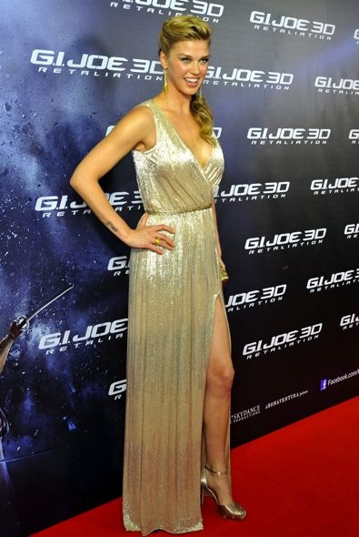 Adrianne Palicki at the Sydney Premiere of G.I. Joe: Retaliation