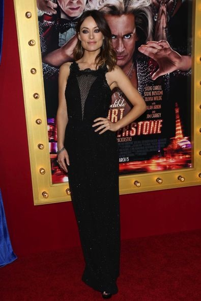 Olivia Wilde at the Los Angeles Premiere of The Incredible Burt Wonderstone