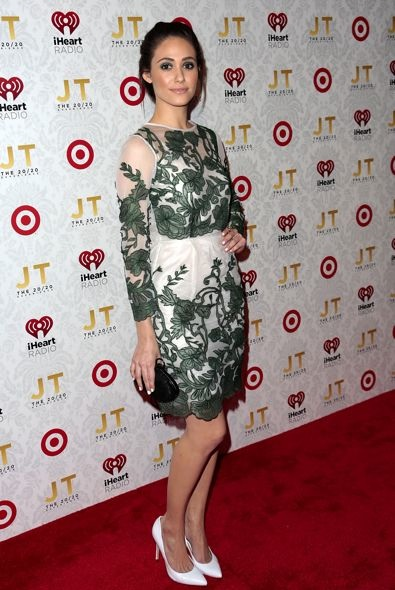 Emmy Rossum at Justin Timberlake's The 20/20 Experience Album Release Party