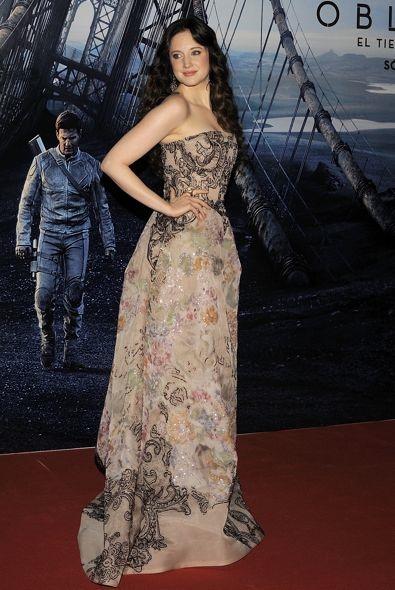 Andrea Riseborough at the World Premiere of Oblivion