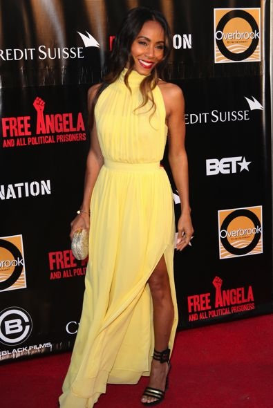 Jada Pinkett Smith at the New York Premiere of Free Angela and All Political Prisoners