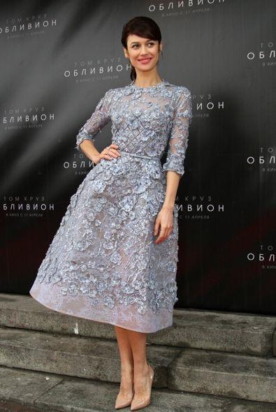 Olga Kurylenko at the Moscow Premiere of Oblivion