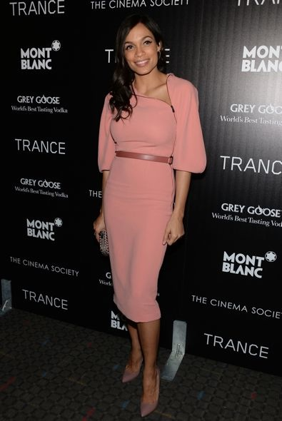 Rosario Dawson at the New York Premiere of Trance
