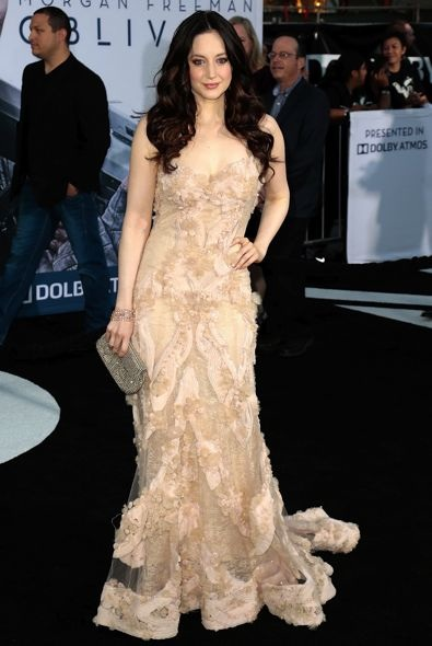 Andrea Riseborough at the Los Angeles Premiere of Oblivion