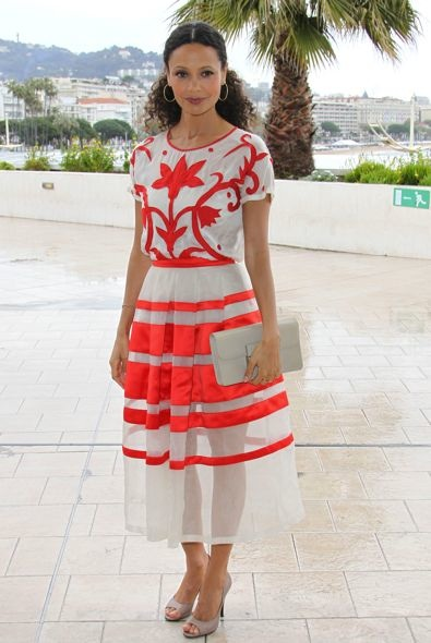 Thandie Newton at the 2013 MIPTV Market Photocall for Rogue