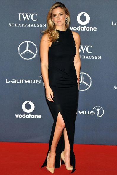 Bar Refaeli at the 2012 Laureus World Sports Awards