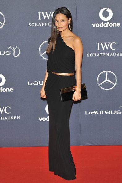 Thandie Newton at the 2012 Laureus World Sports Awards