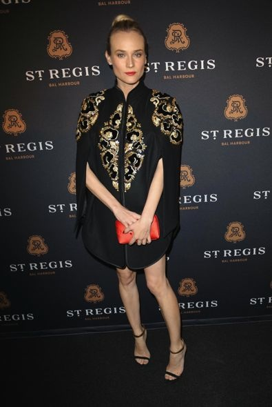 Diane Kruger at the St. Regis Bal Harbour Resort &amp; Residences Grand Opening Celebration