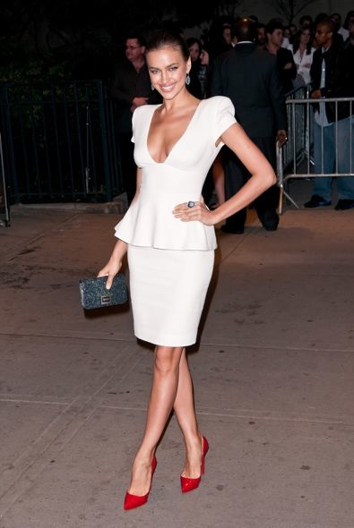 Irina Shayk at the New York Screening of The Hunger Games