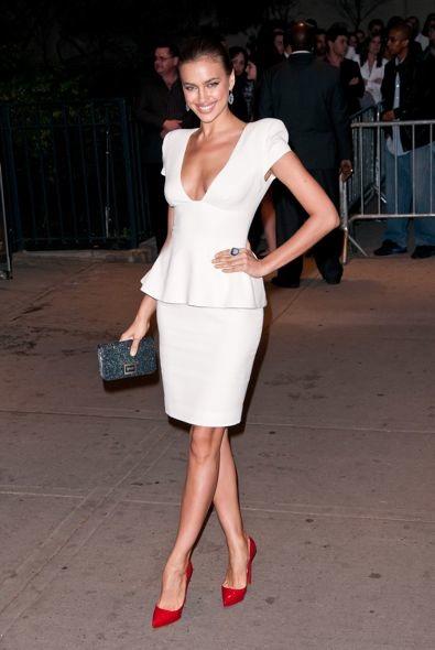 Irina Shayk at the New York Screening of The Hunger Games