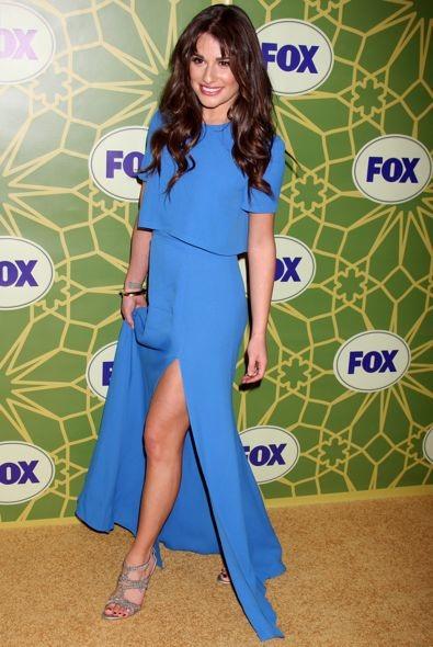 Lea Michele at the 2012 Fox TCA All-Star Party